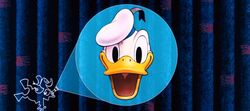 Donald Duck Cinemascope logo