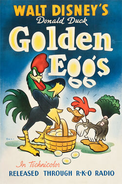 Donald Duck Golden Eggs