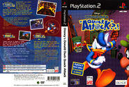 Donald Duck Quack Attack - PS2 Cover