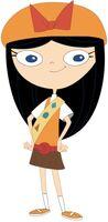 Fireside Girl Isabella clipart