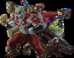 GOTG Animated Team Render 01