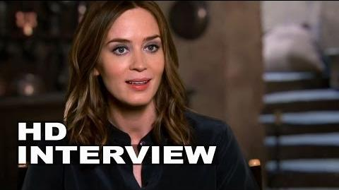 "Into the Woods Emily Blunt ""Baker´s Wife"" Behind the Scenes Movie Interview"