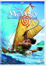 Moana Mexico DVD