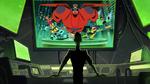 Obake watching Big Hero 6