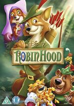 Robin Hood UK DVD 2014