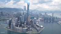 Stark Tower Iron Man Experience Concept Art