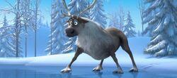 Sven im Die Eiskönigin Trailer