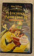 The hunchback of notre dame ii the secret of the bell uk vhs