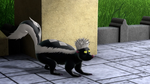 Twitch as a skunk