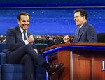 Will Arnett visits Stephen Colbert