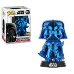 Darth Vader Blue Chrome POP
