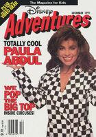 Disney Adventures Magazine cover Dec 1991 Paula Abdul