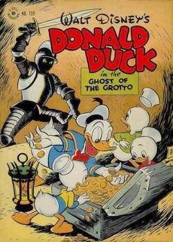 Donald Duck in Ghost of the Grotto