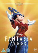 Fantasia 2000 UK DVD 2014 Limited Edition slip cover
