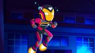 Ironheart in Marvel Super Hero Adventures