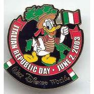Italian Republic Day Pin