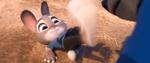 Judy menendang muka Gideon Grey
