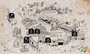 Legends of Frontierland Map