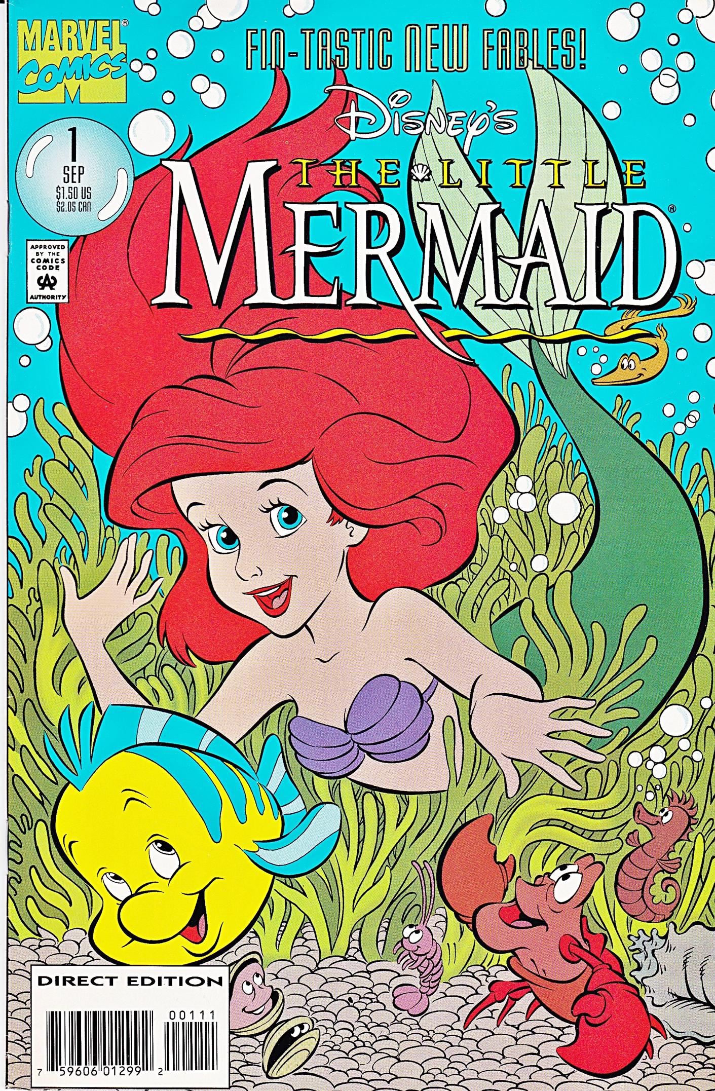 The Little Mermaid (Marvel Comics) | Disney Wiki | FANDOM ... - photo#29