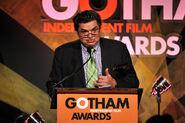 Oliver Platt speaks at Gotham Awards