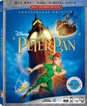 Peter Pan 65th Anniversary Blu-ray Box Art
