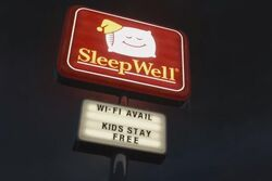 Sleep-well-sign