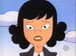 Spinelli with her formalwear