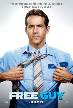 2020 - Free Guy Movie Poster