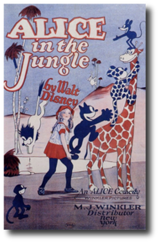 Alice in the jungle poster