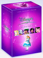 Disney's Heroines Box Set UK DVD 1