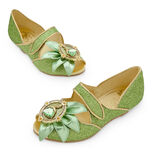 Disney Store Deluxe Tiana Shoes Heels Princess and The Frog Costume Shoes