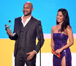 Olivia Munn & Keegan-Michael Key at MTV VMA