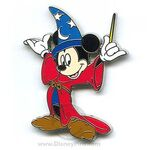 Sorcerer Mickey Wand Pin