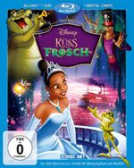The Princess and the Frog 2010 Germany Blu-Ray Combo Pack