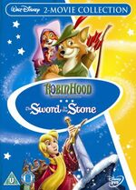 The Sword In The Stone Robin Hood Box Set UK DVD