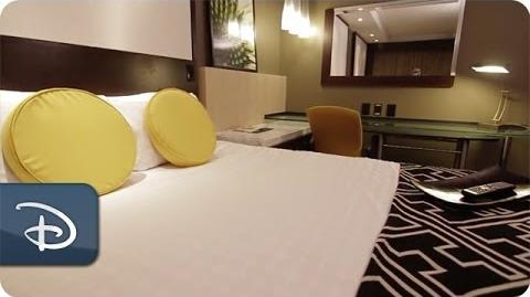 Walt Disney World Contemporary Resort - Room Tour Disney Parks-0