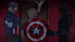 Cap and Panther Secret Wars 05