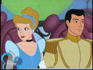 Cinderella with prince charming