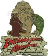 DLR - Indiana Jones Adventure Temple of the Forbidden Eye 15th Anniversary