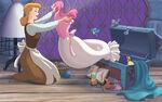 Disney Princess Cinderella's Story Illustraition 5
