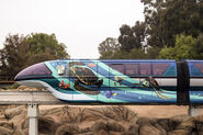 Finding Nemo Monorail Overlay