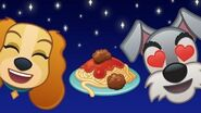 Lady and the Tramp As Told by Emoji by Disney