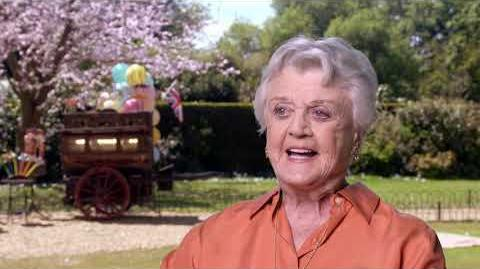 MARY POPPINS RETURNS Angela Lansbury Behind The Scenes Interview
