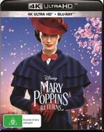 Mary Poppins Returns 2019 AUS 4K Ultra HD + Blu Ray