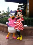 Minnie and Daisy Epcot