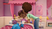 Mom mcstuffins kisses doc goodnight