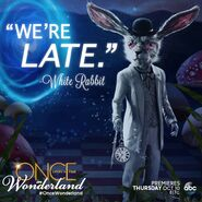 Once Upon a Time in Wonderland - We're Late - Quote