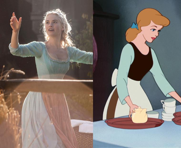 Cinderella stepsisters dress colors for pale