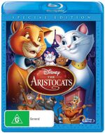 The Aristocats 2012 AUS Blu Ray