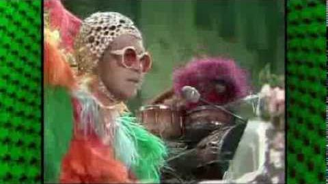 """CROCODILE ROCK"" ~ Elton John ~ Muppet Show"
